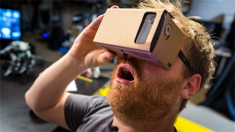 cardboard apps and gaming