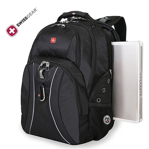 0f9ceb3a7d48 This Attractive But Rugged Laptop Backpack Is Made Of Durable Ballistic  Weave Fabric