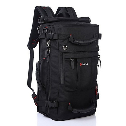 fa7bd83aea7 Uniquely designed laptop backpack convertible into a tote bag with its top  equipped with a handle
